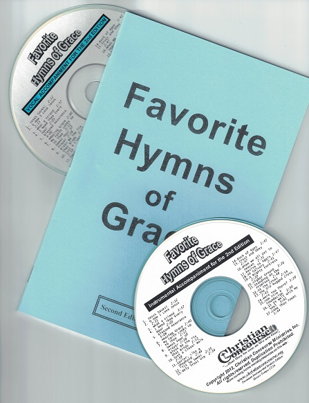Favorite Hymns of Grace - Large Print Booklet and CDs