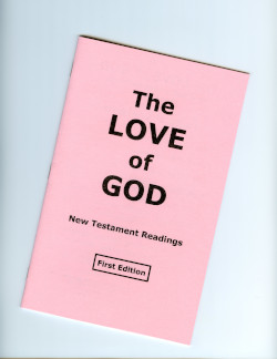The Love of God - Large Print Booklet
