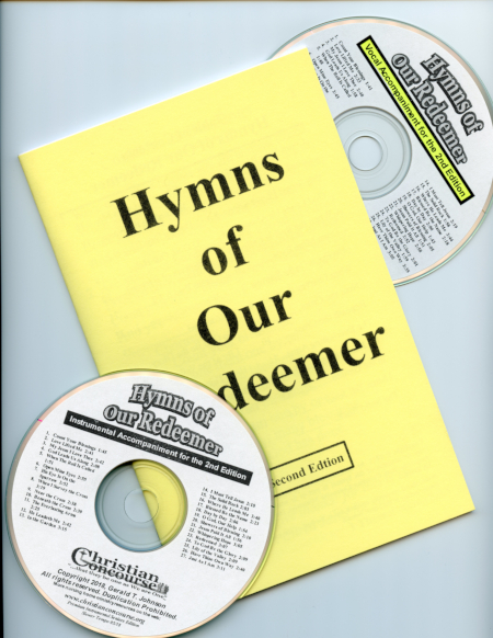 Hymns of Our Redeemer - Large Print Booklet and CDs